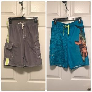 Old Navy Boys Board Shorts Bundle (Two Pair)